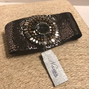Nakamol Leather Bracelet